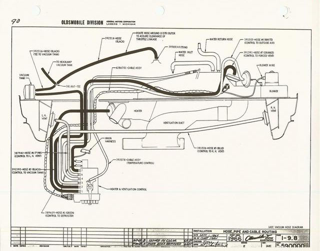 1971 oldsmobile 88 wiring diagram