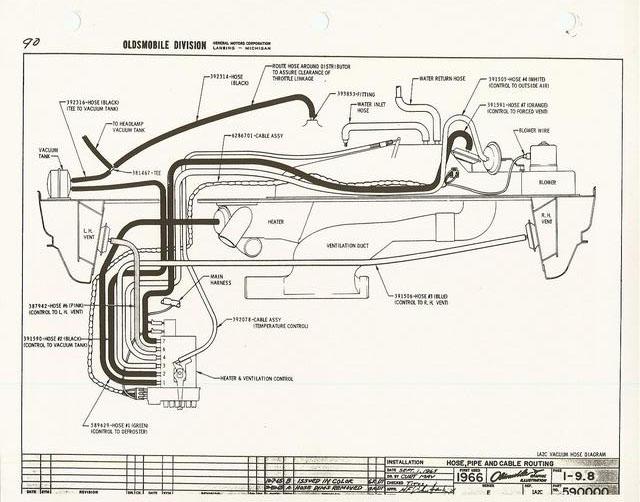 1967 oldsmobile wire diagram